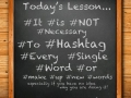 useless-hashtags